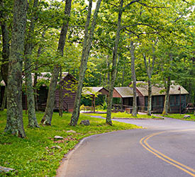 Lewis Mountain Cabins - Shenandoah National Park