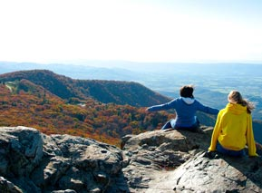 Girls at Stony Man - Shenandoah National Park