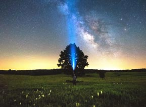 Milky Way at Big Meadows - Shenandoah National Park