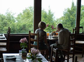Couple in Pollock Dining Room at Skyland - Shenandoah National Park