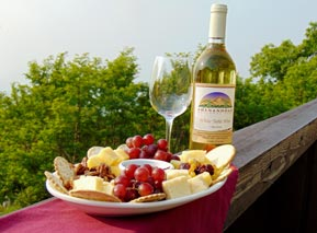 Wine & Cheese Plate - Shenandoah National Park
