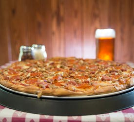 Big Meadows Lodge Taproom Pizza - Shenandoah National Park