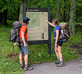 Shenandoah National Park Hiking