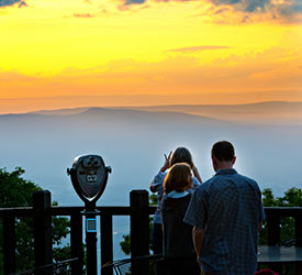 Shenandoah National Park Sunset