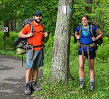 Hikers in Shenandoah National Park