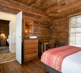 Two Bedroom Cabin at Lewis Mountain Cabins in Shenandoah National Park