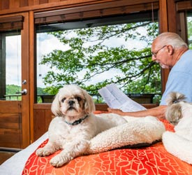 Pet Friendly Room at Skyland in Shenandoah National Park