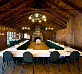 Conference Building Meeting - Shenandoah National Park