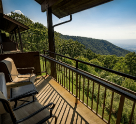View From Room At Skyland In Shenandoah National Park