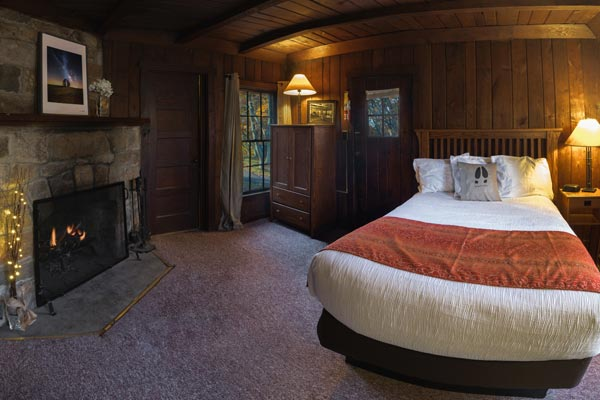 Cabin Room at Big Meadows Lodge in Shenandoah National Park