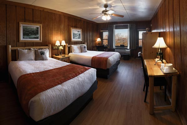 Preferred Room at Big Meadows Lodge in Shenandoah National Park