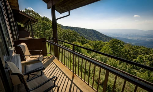 Skyland Room View - Shenandoah National Park