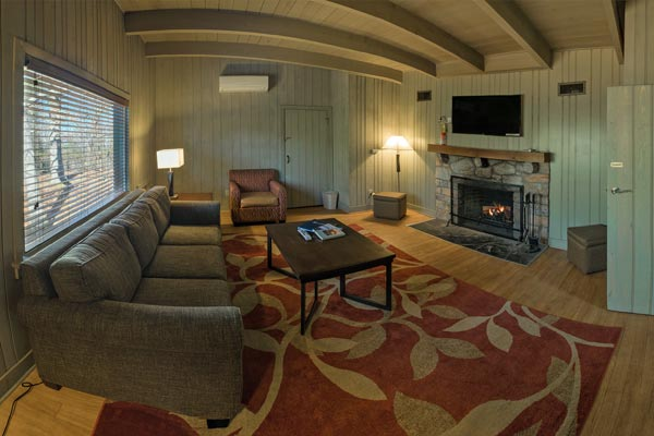 Living Room in Suite at Skyland in Shenandoah National Park