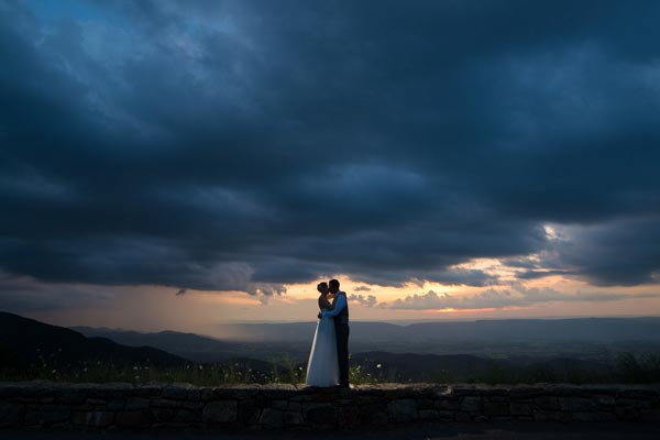 Wedding in Shenandoah National Park - Copyright Rob Jinks Photography