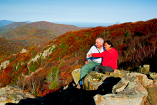 Couple Visiting Shenandoah National Park