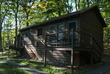 Lewis Mountain Cabins in Shenandoah National Park